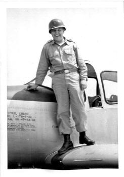 Dad and Airplane 1950